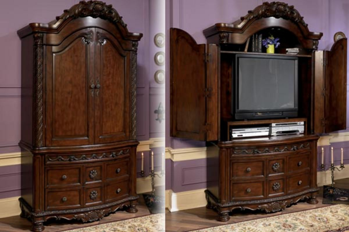 North shore armoire at gardner white for Furniture 60 months no interest