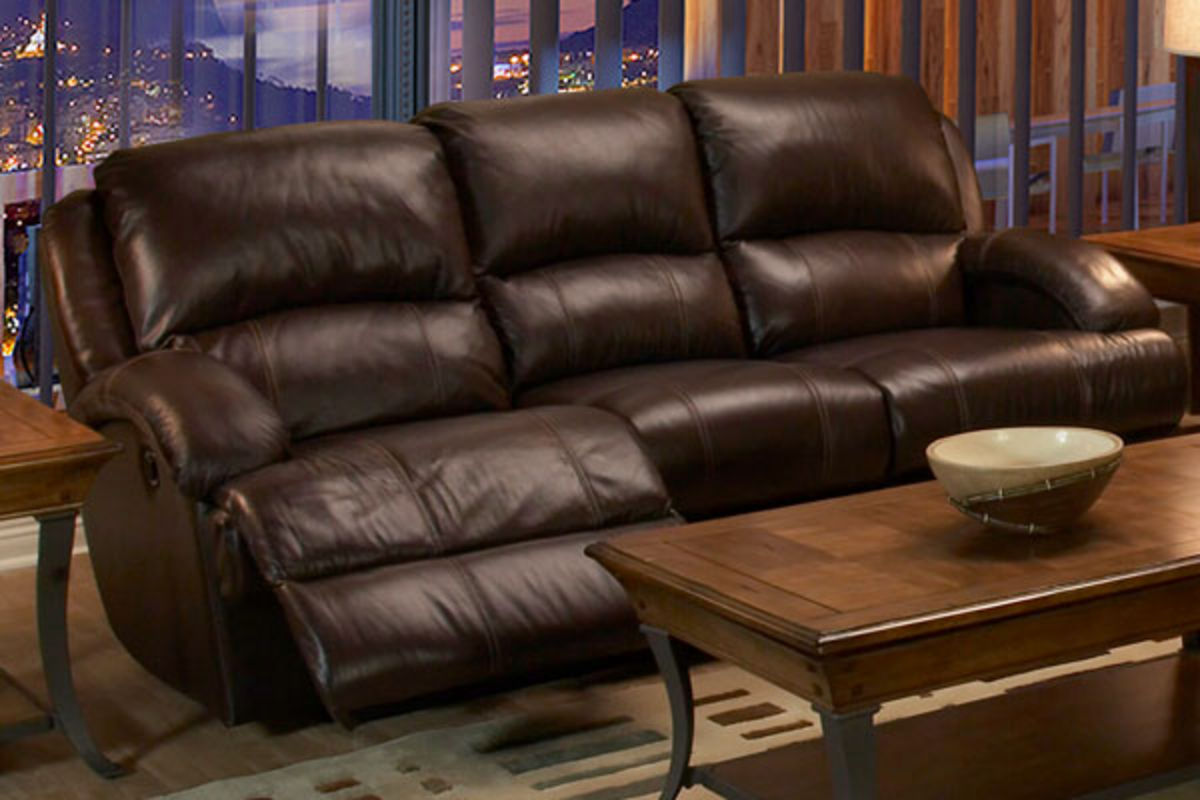 Share - Malta Leather Power Reclining Sofa