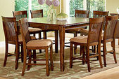 Cassidy Gathering Table & 6 Counter Chairs