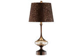 Bronze & Brown Table Lamp