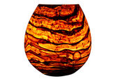 Tigers Eye Vase Table Lamp