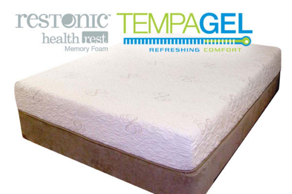 TempaGel™ Relax by Restonic Full Mattress