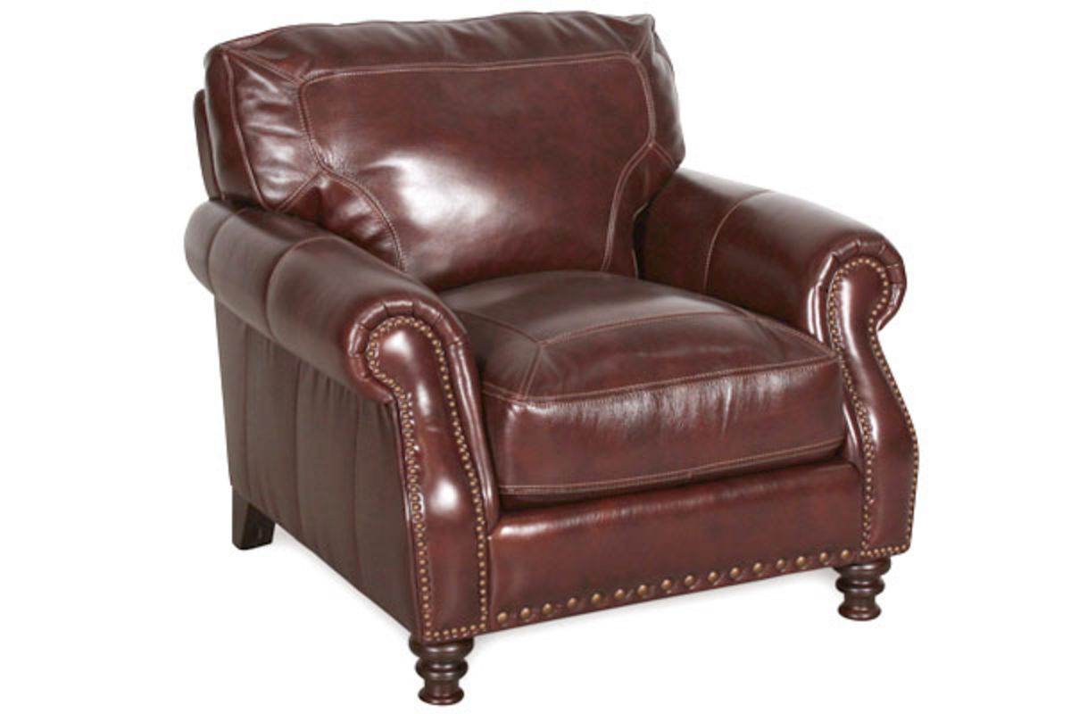 Calico Leather Chair At Gardner White