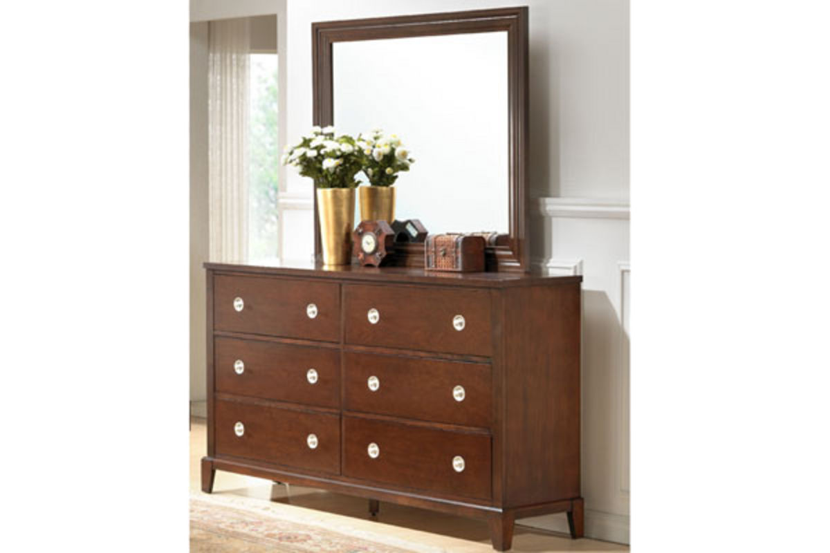 salem dresser with mirror at gardner white. Black Bedroom Furniture Sets. Home Design Ideas