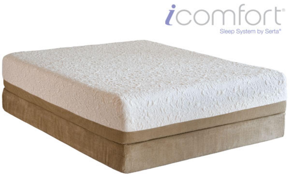 Icomfort queen split flat foundation at gardner white for Gardner white credit
