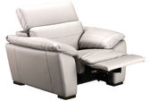 Roberta Leather Power Recliner