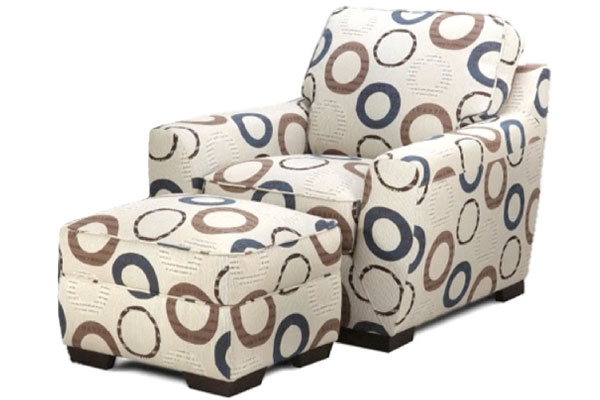 Nightfall Accent Chair & Ottoman