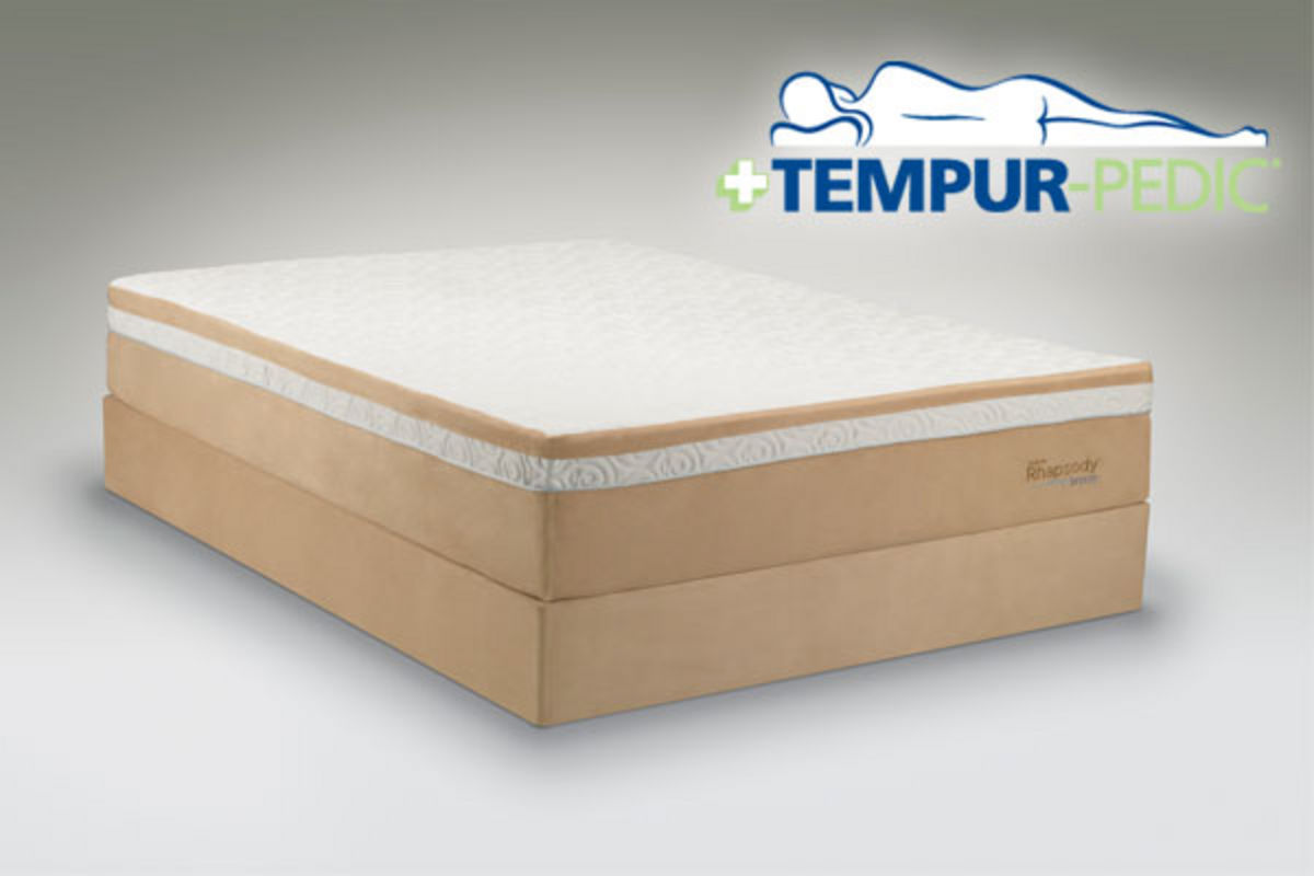 Tempur rhapsody breeze twin xl mattress at gardner white Twin mattress xl