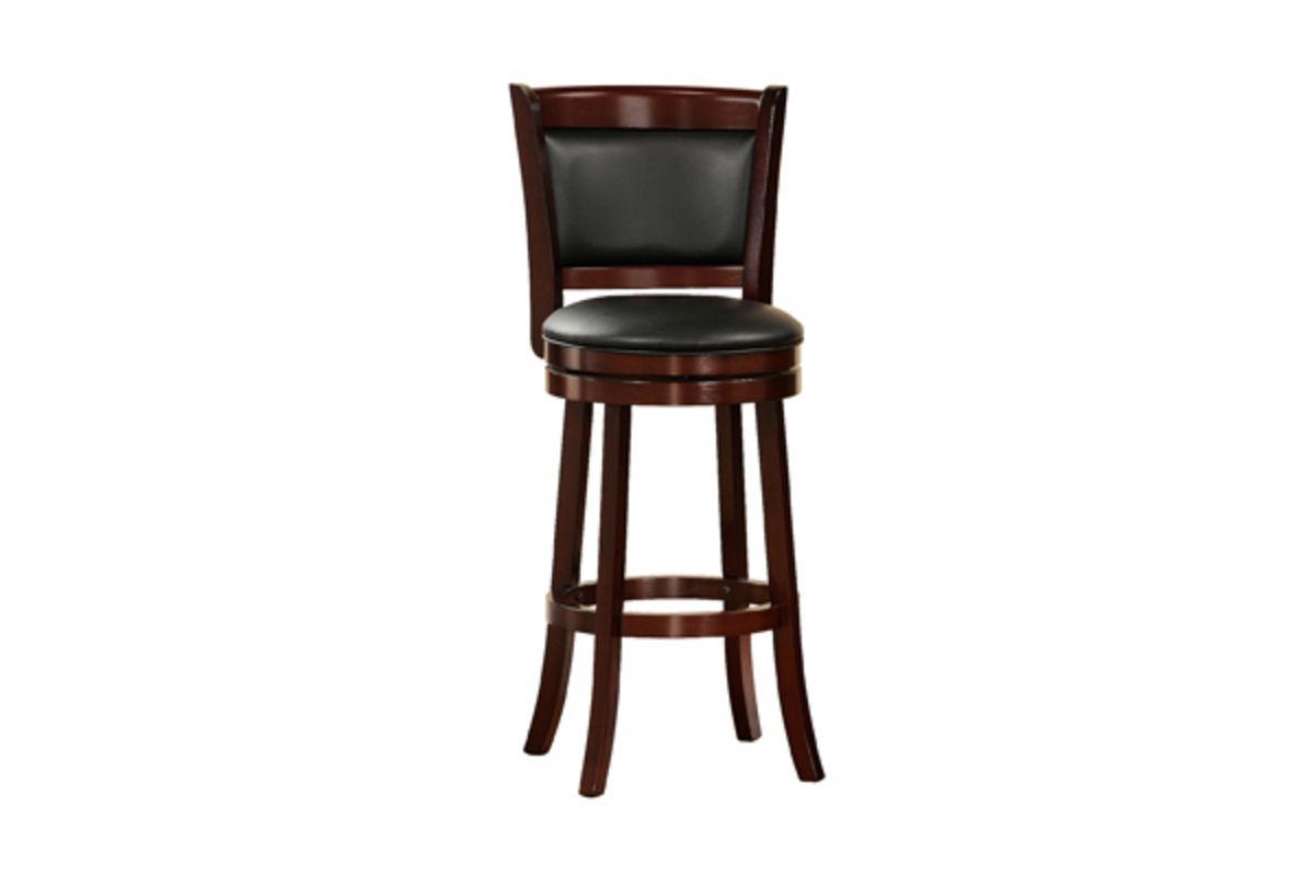padded back 24 bar stool at gardner white