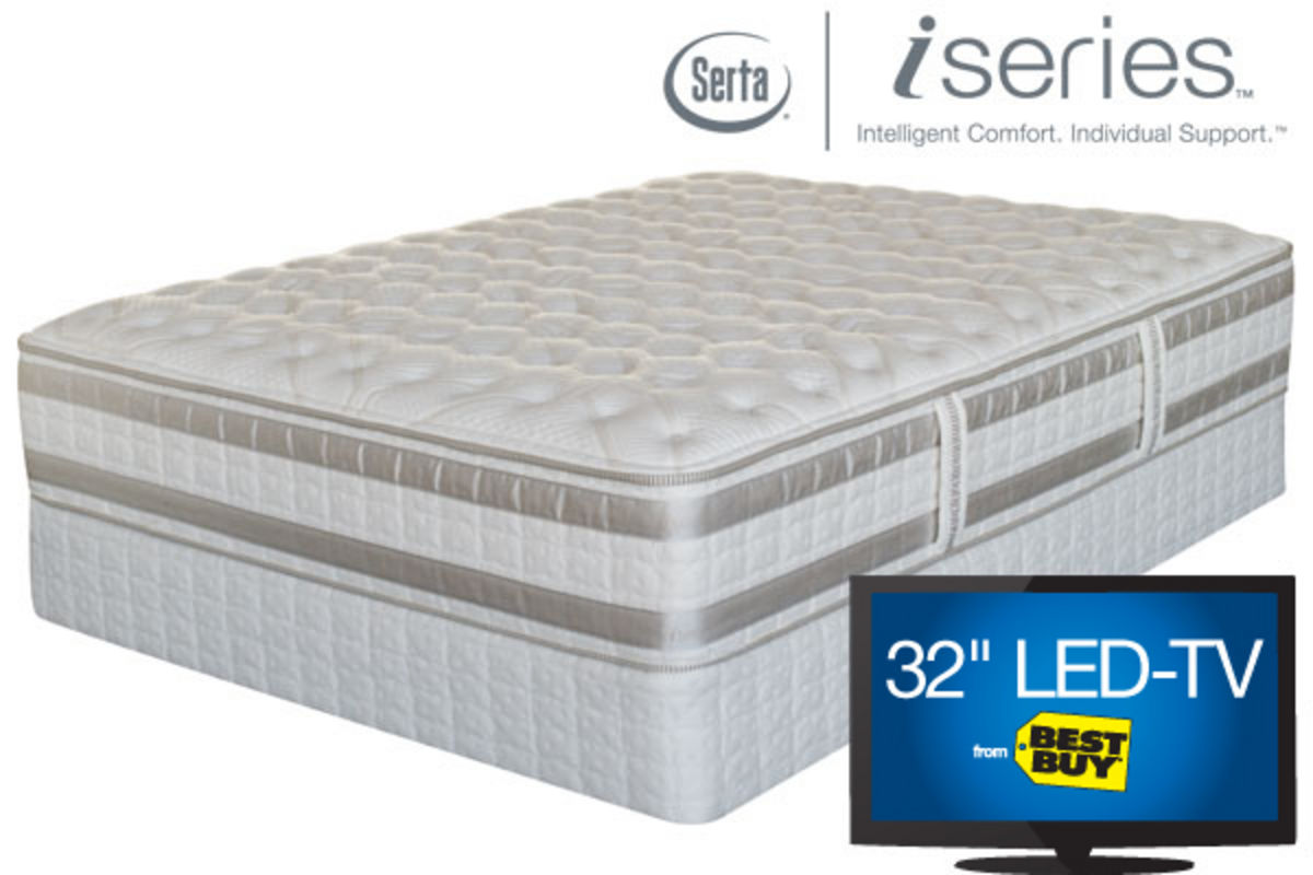 Iseries By Serta Admiration Twin Extra Long Mattress
