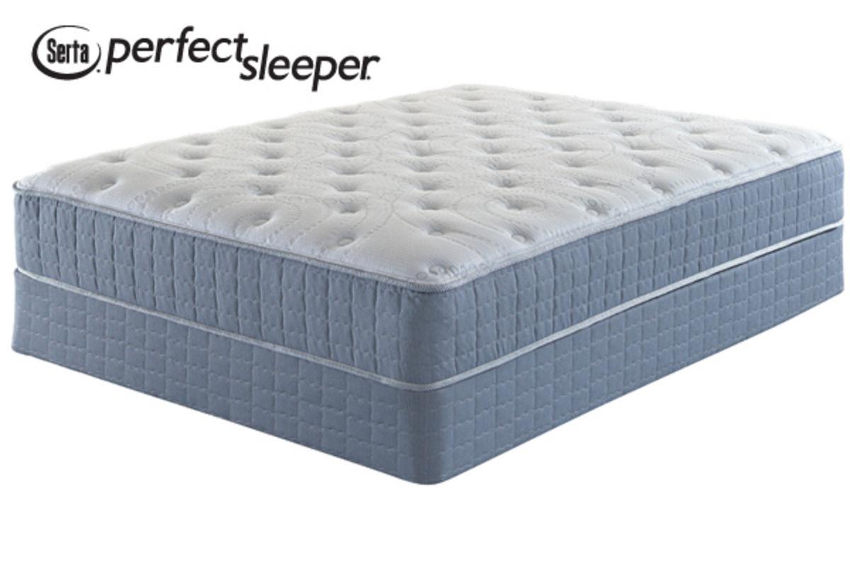 Serta Perfect Sleeper 174 Claymont Plush King Flat Set At