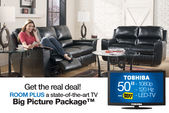 "Nova Big Picture Package with a 50"" Toshiba 1080p 120Hz LED-TV"