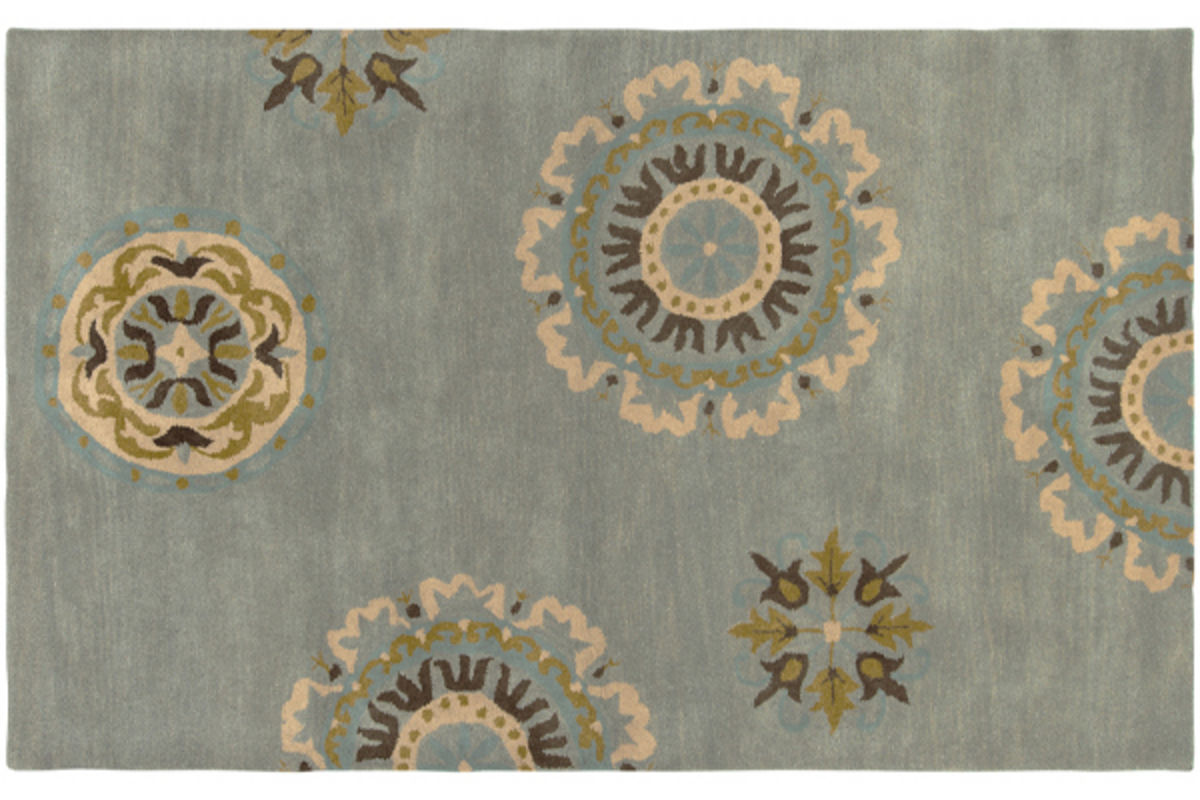 5X8 Volare Blue Rug from Gardner-White Furniture