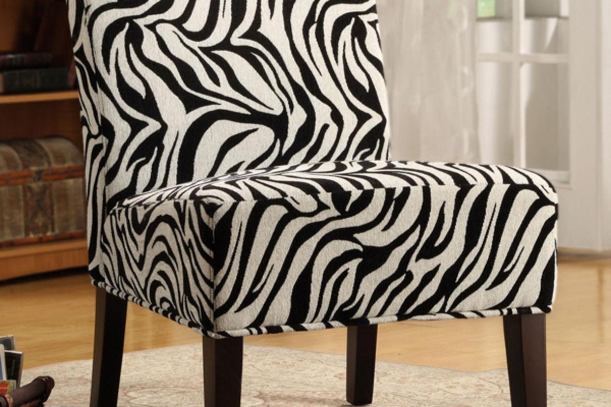 Zebra Chair Home Interior Design