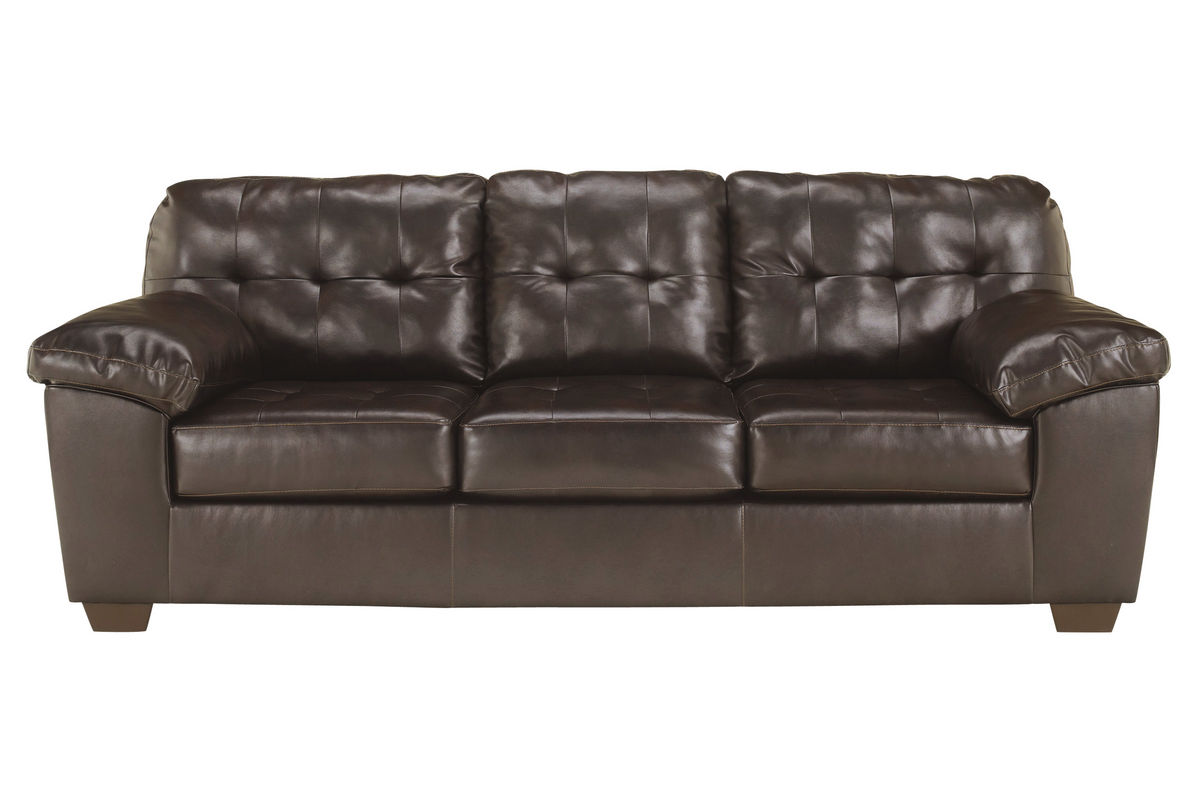 Alliston Bonded Leather Sofa