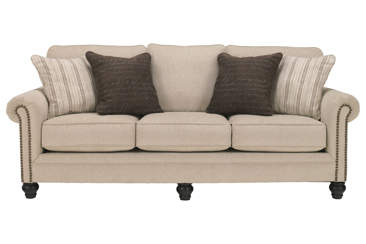 Milari linen sofa at gardner white for White linen sectional sofa