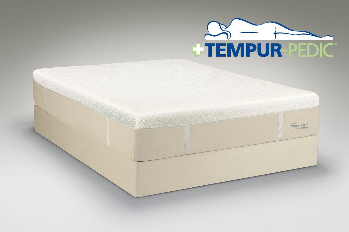 Tempur Cloud 174 Luxe Breeze King Mattress At Gardner White