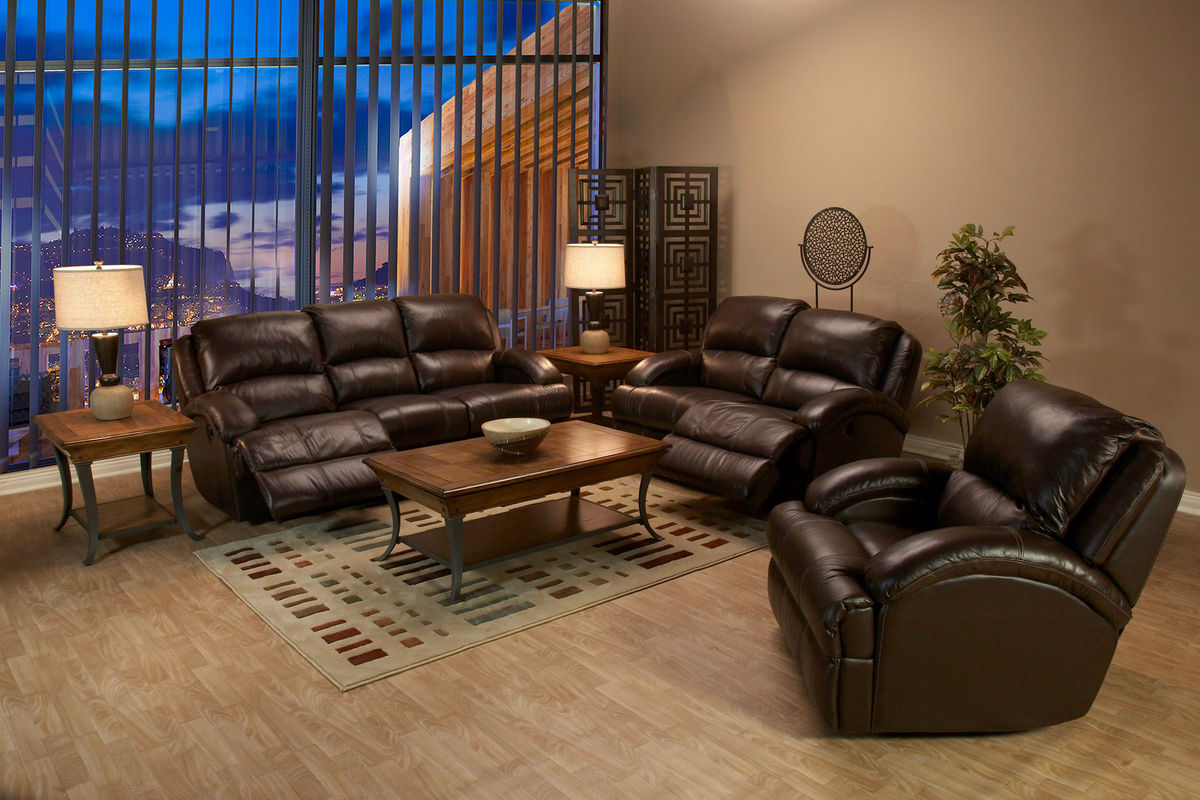 Malta Leather Power Reclining Sofa At Gardner White
