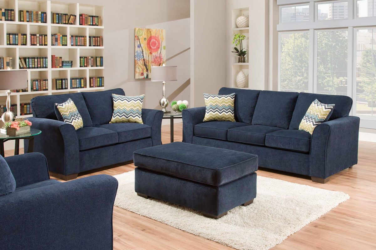 River sofa at gardner white for Jungle furniture white river