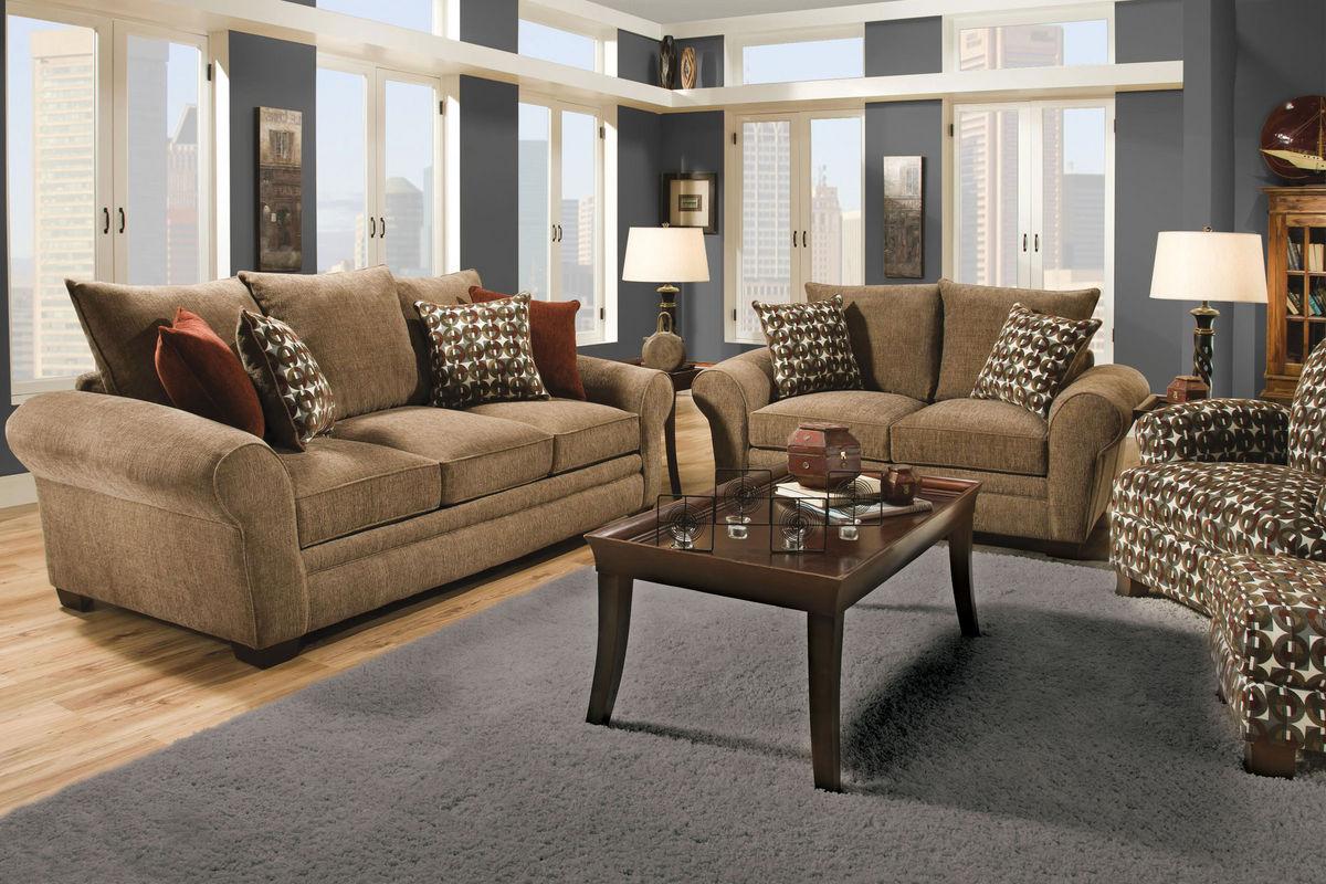 resort chenille queen sleeper sofa