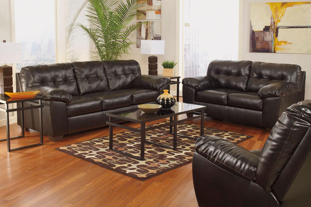 Alliston Bonded Leather Sofa At Gardner White