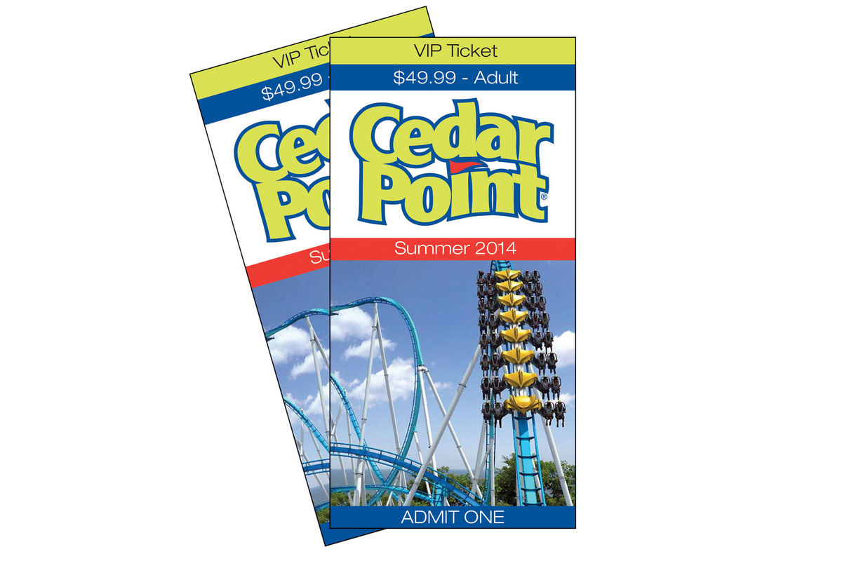 Cedar Point Tickets At Gardner White