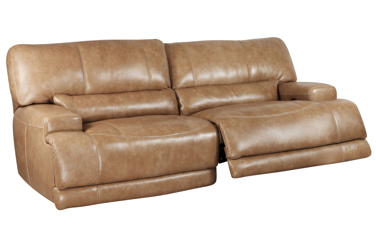 Hamlin power reclining leather sofa at gardner white Leather reclining loveseat