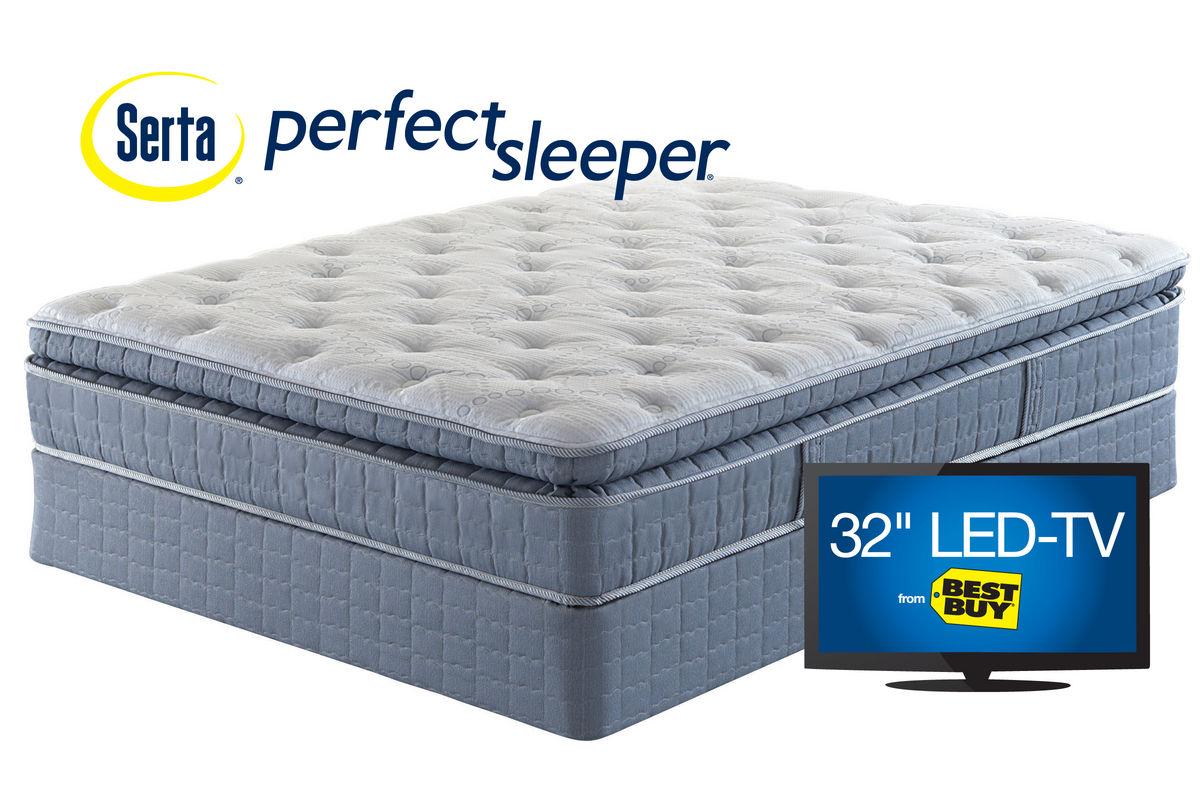 Serta Perfect Sleeper Castlemoor Super Pillowtop Firm Mattress Bed Mattress Sale