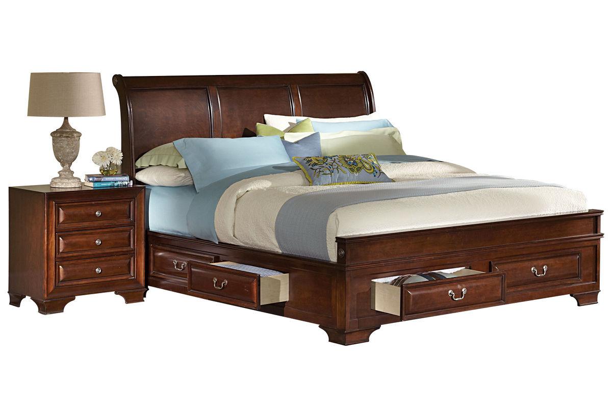 Caldwell King Storage Bed At Gardner White