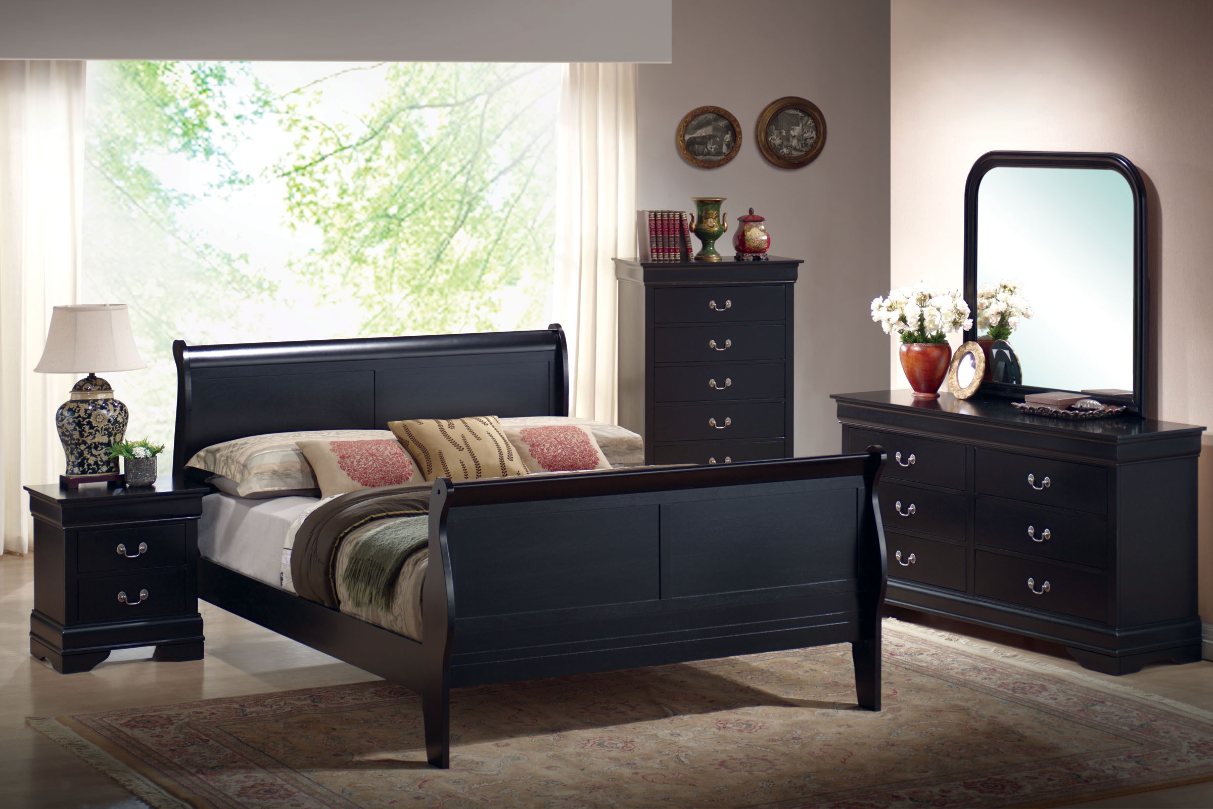 Luigi 5 Piece Queen Bedroom Set