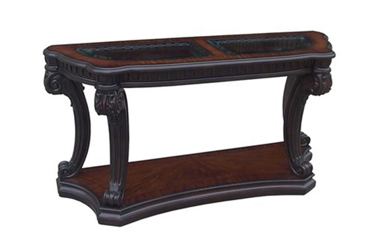 Old World Sofa Table At Gardner White