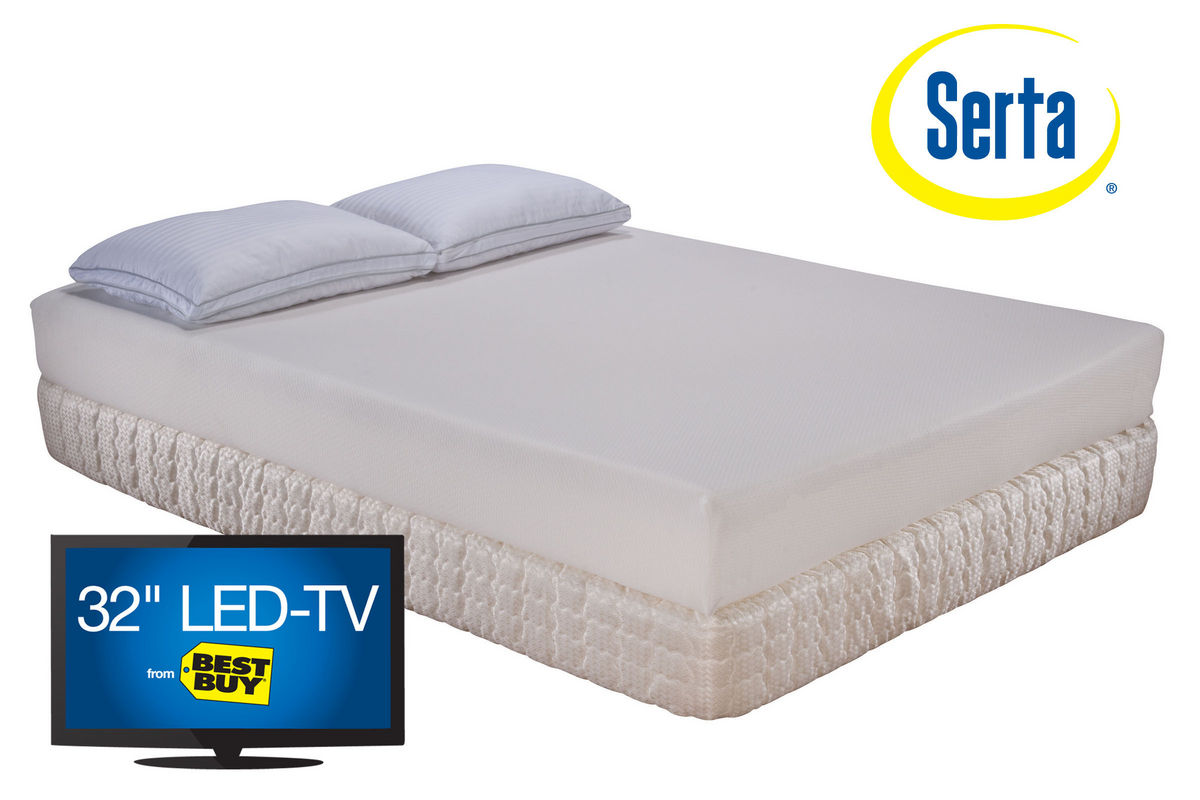 Serta Westdean Queen Memory Foam Mattress