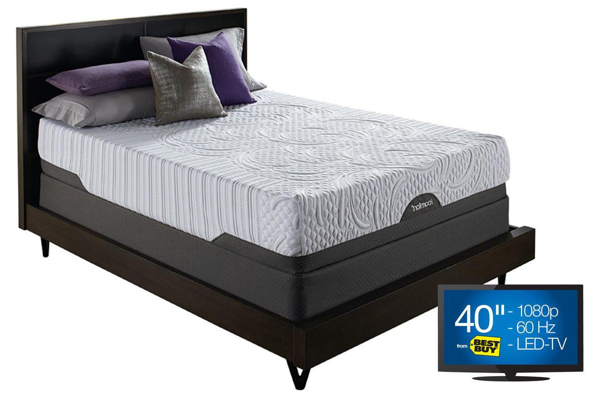 Icomfort Savant Mattress With Low Profile Foundation Queen Bed Mattress Sale