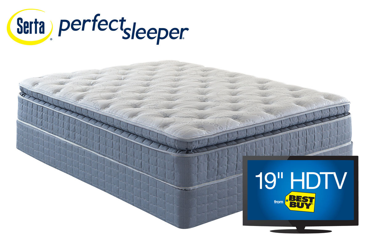 Serta Perfect Sleeper Aldercroft Super Pillowtop Queen Mattress