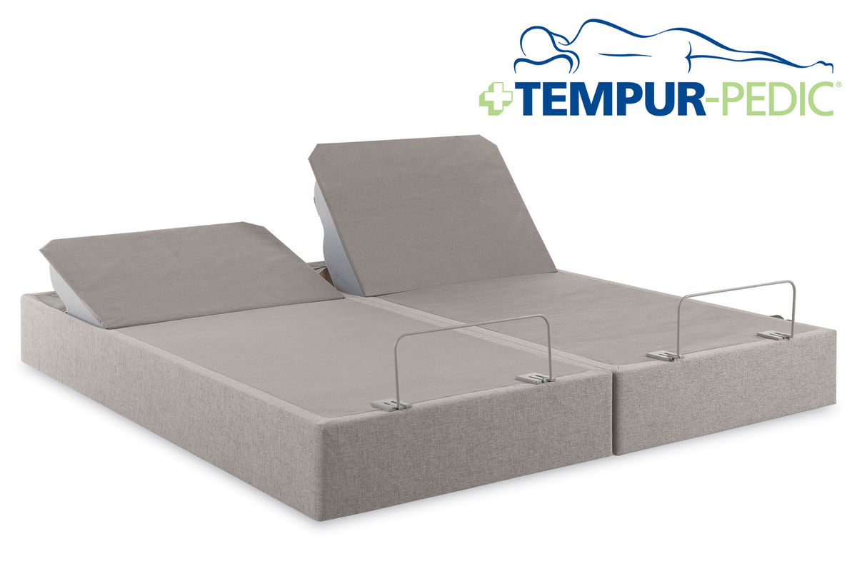 Tempur uptm twin xl king split adjustable foundation for Furniture and mattress warehouse king