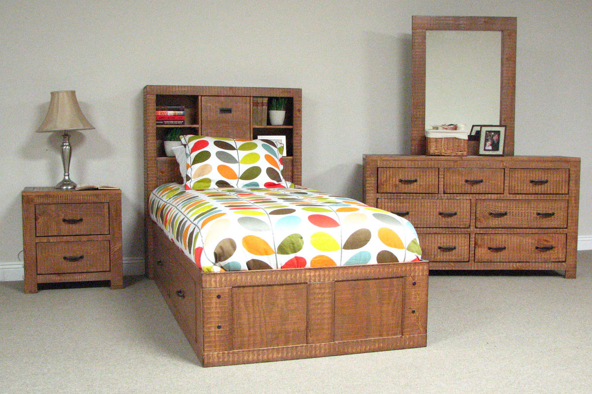 honey twin captains bed at gardner white. Black Bedroom Furniture Sets. Home Design Ideas