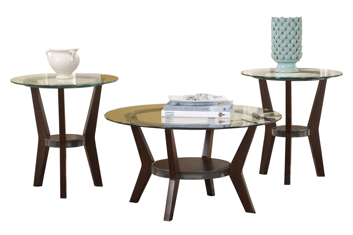 Fantell Cocktail Table & 2 End Tables At Gardner-White