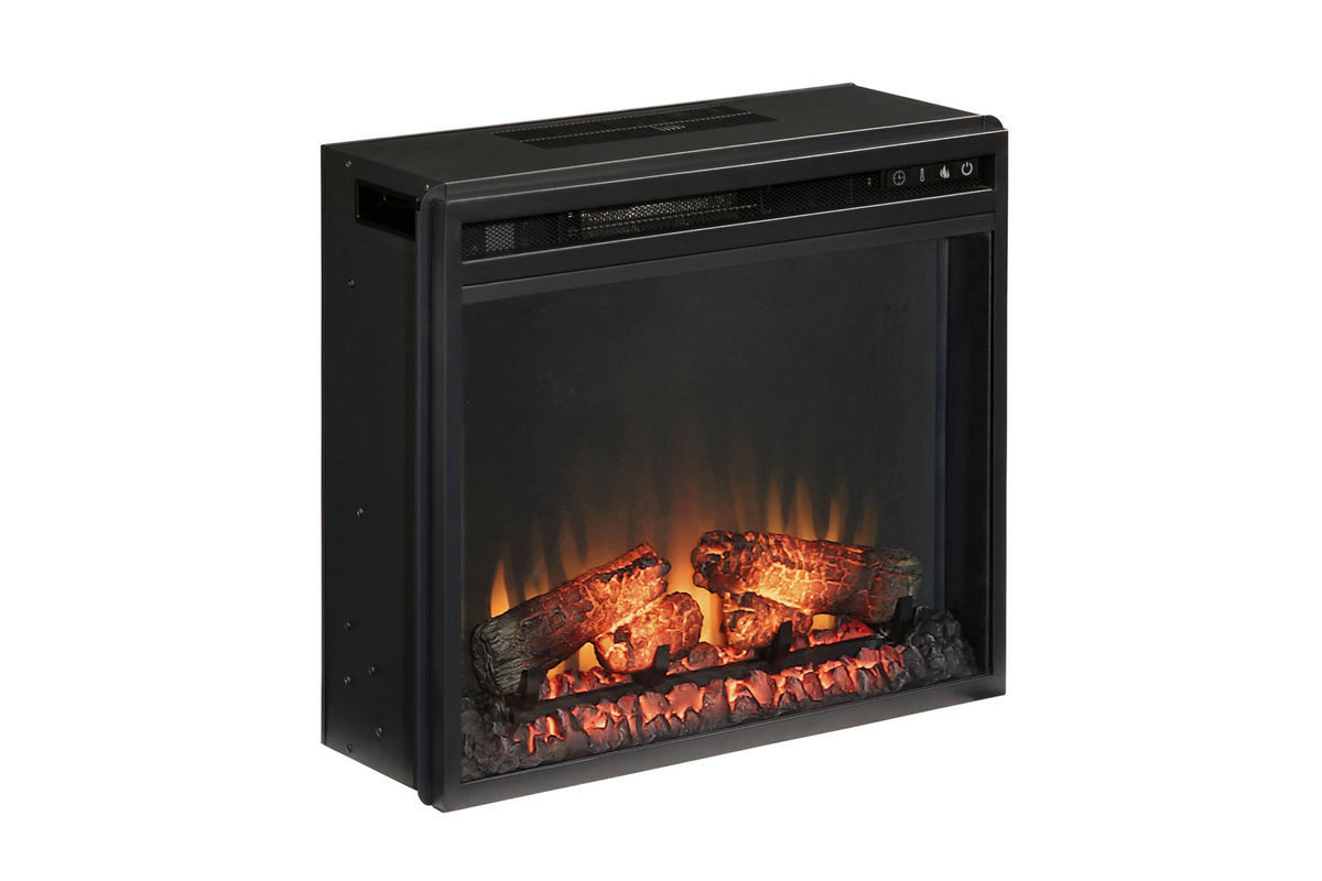 Vinasville Black Electric Fireplace Insert At Gardner White