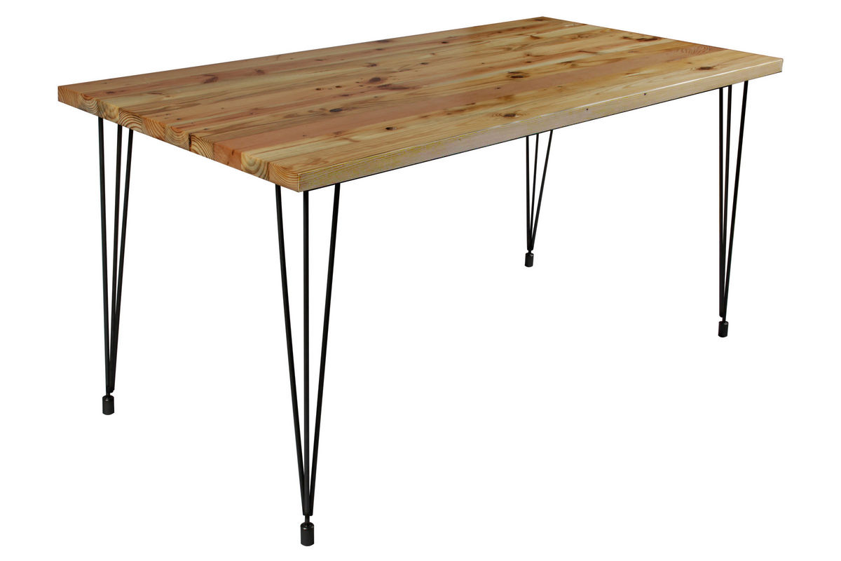 small hairpin dining table from gardner white furniture your name