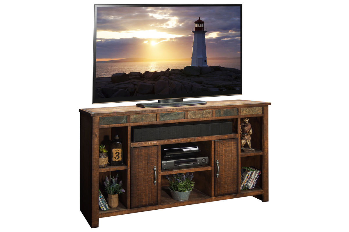 Old West Rustic 65 Quot Tv Console At Gardner White