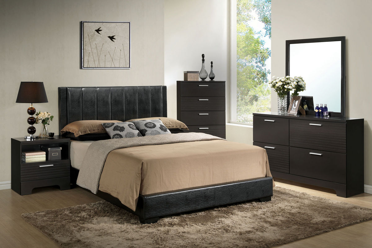burbank 5 piece queen bedroom set