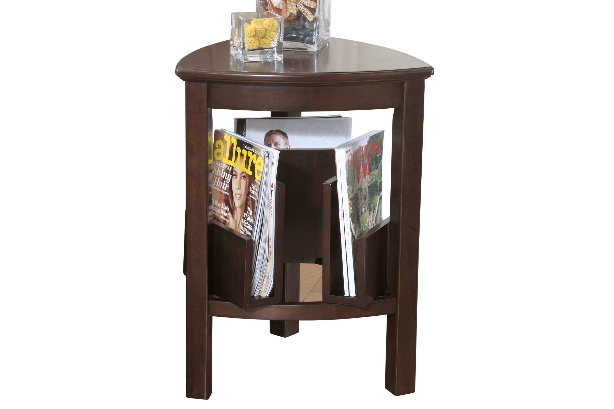 larimer triangle end table t -