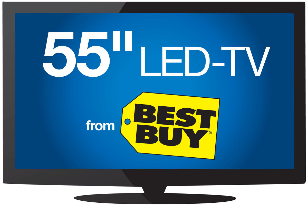 55 Quot Insignia Led Hdtv At Gardner White