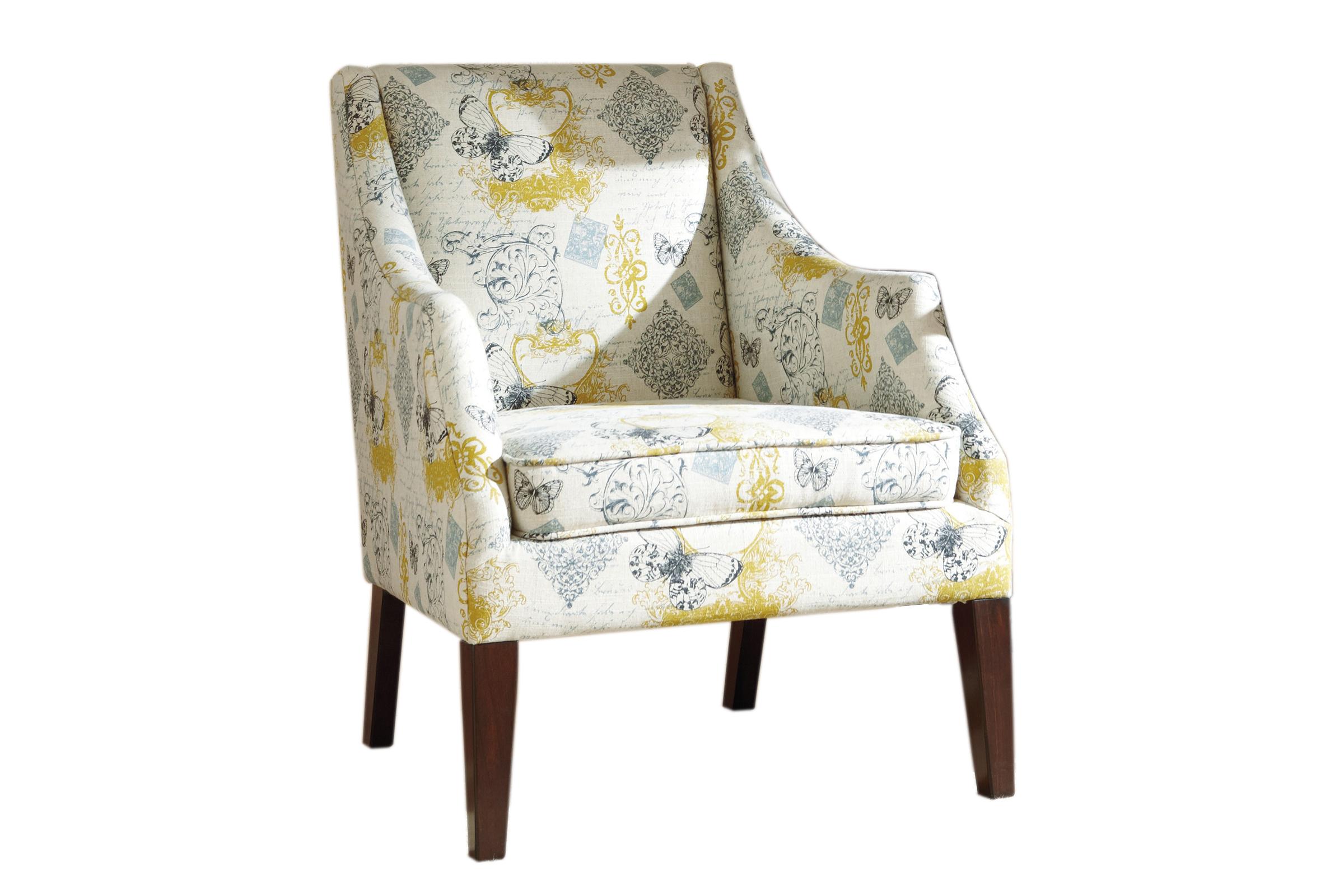 Hindell Park Putty Accent Chair 1680421*FDROP-170629 at Gardner-White