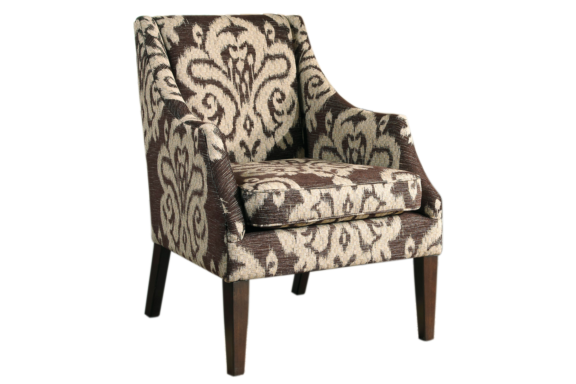 Longdon Place Chocolate Accent Chair FDROP