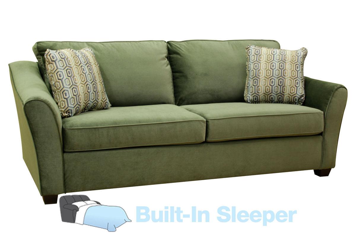 Garland Microfiber Queen Sleeper Sofa At Gardner White