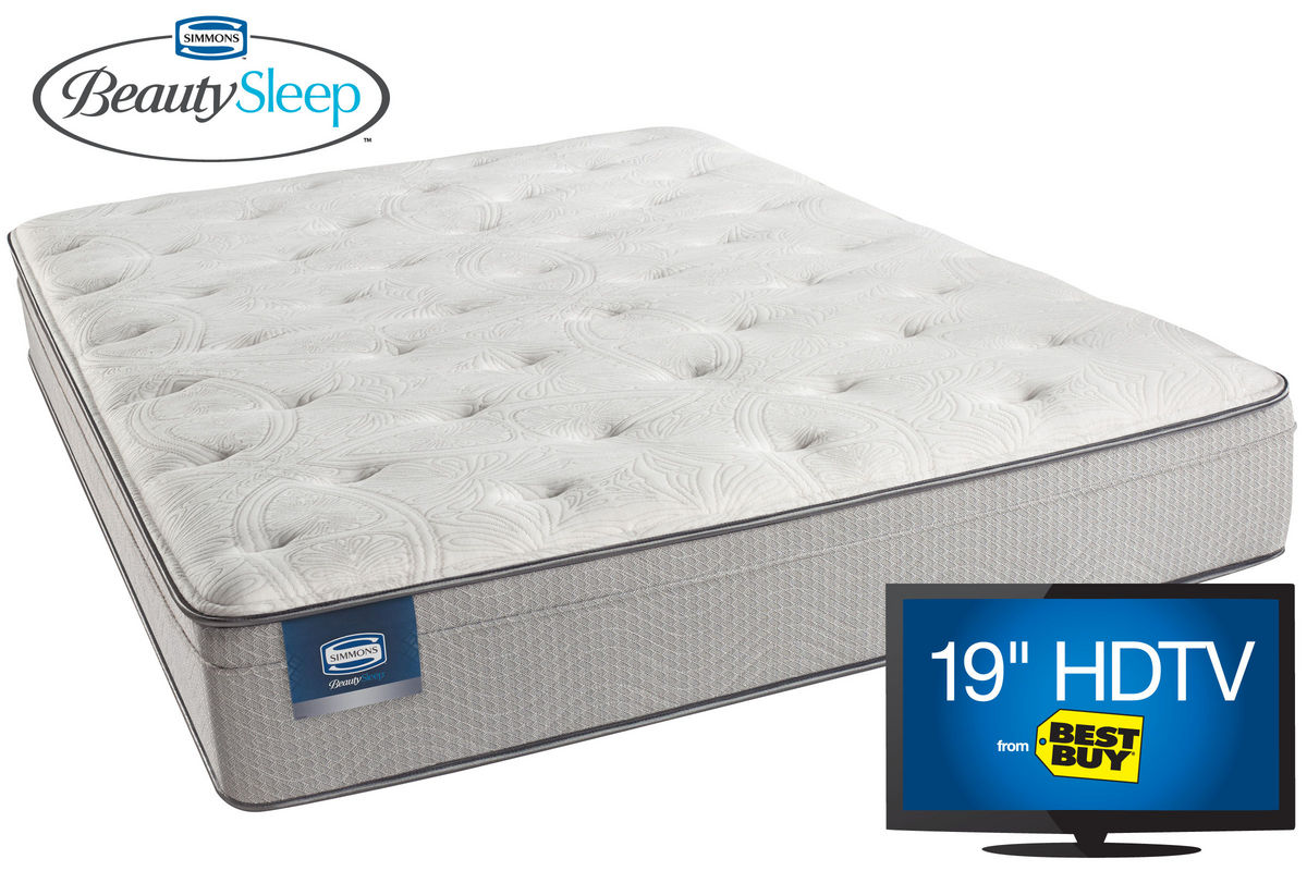 Simmons 174 Beautysleep Caitlyn Twin Mattress