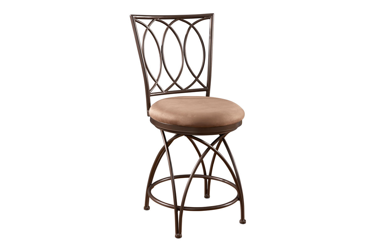 Big And Tall Metal Crossed Legs Counter Stool Powell 586 918