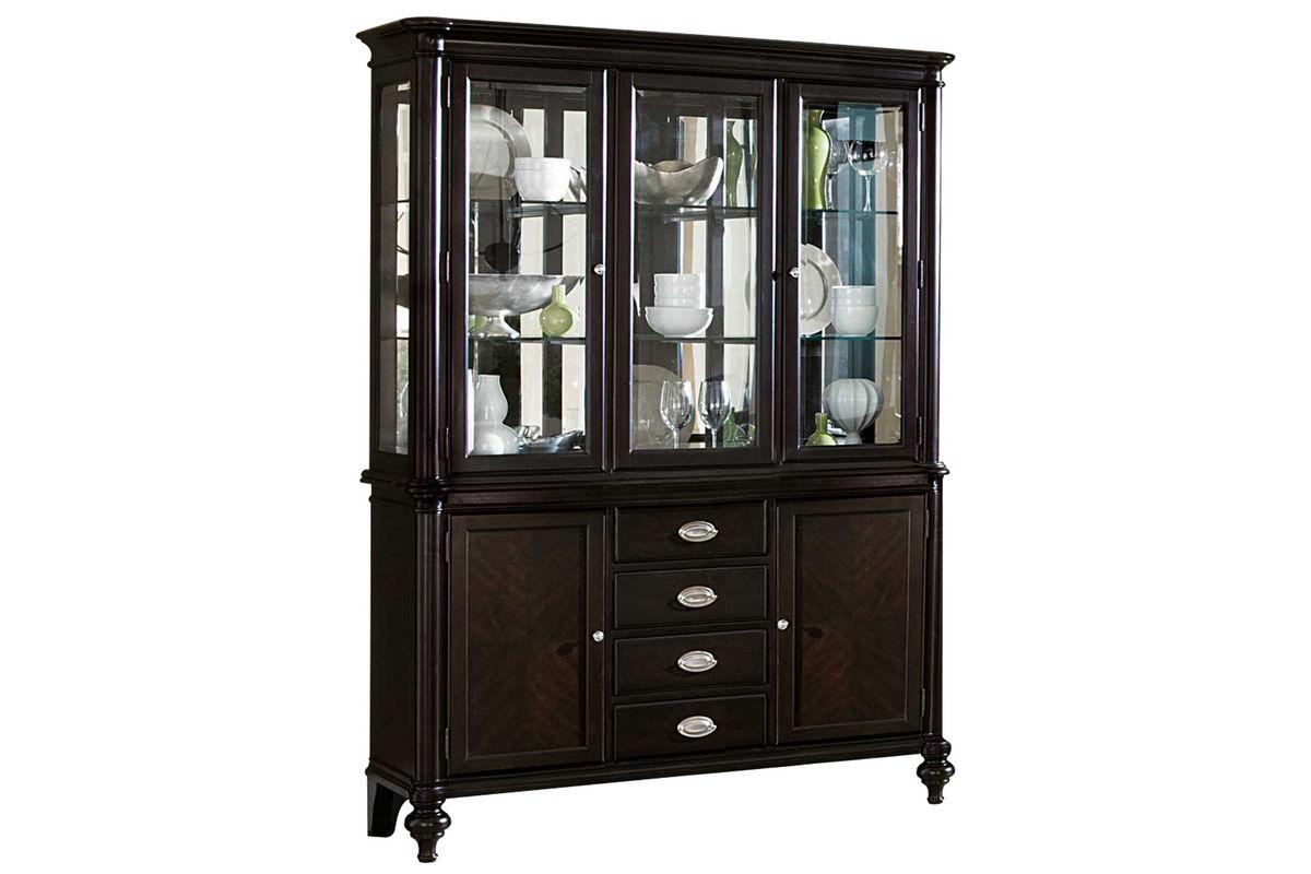 90041 Lancelot China Cabinet on Dining Room Furniture Outlet