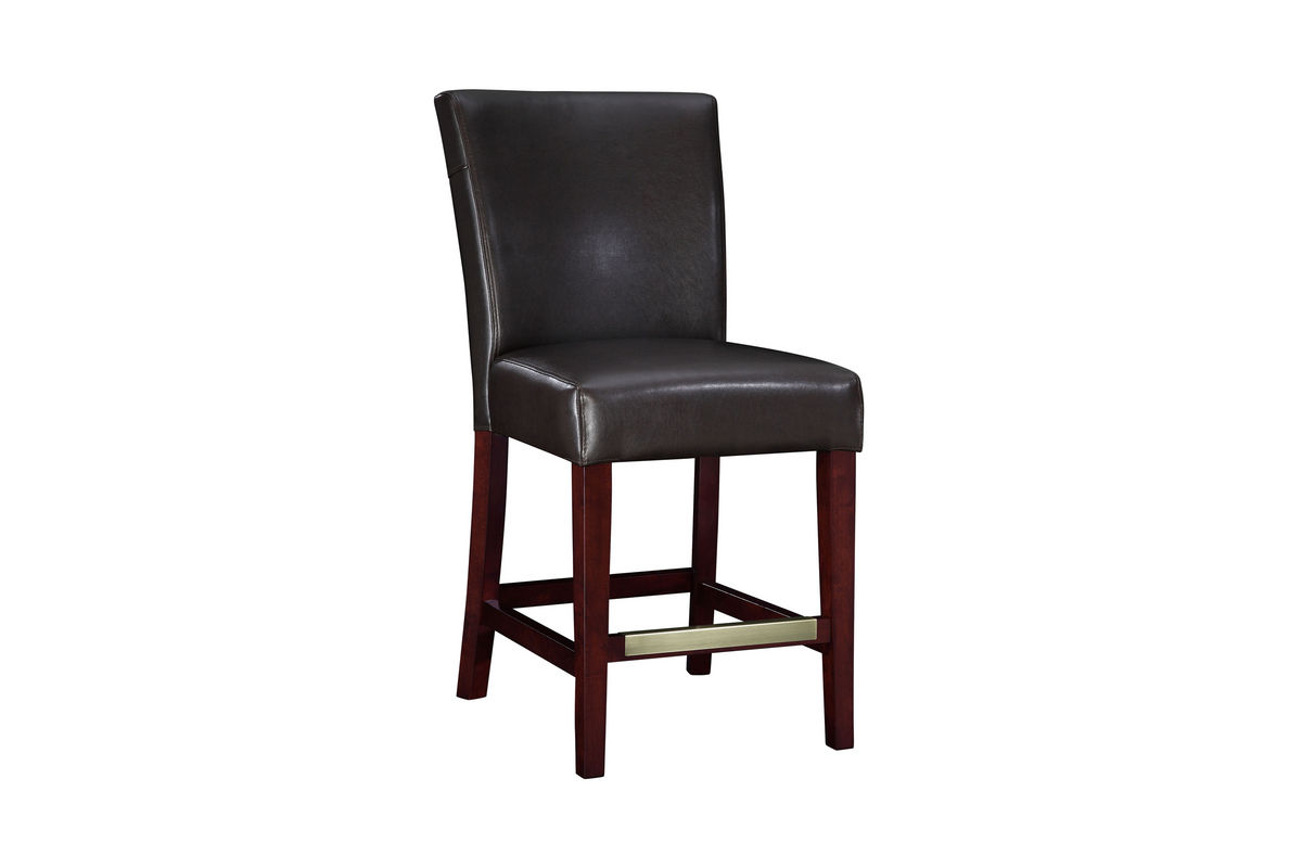 Brown Leather Bar Stool Powell 749 918 At Gardner White